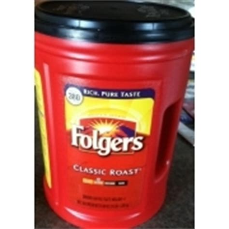 Although, if you prefer weaker coffee, then you better go with folgers. Folgers Coffee, Medium, Classic Roast: Calories, Nutrition Analysis & More | Fooducate
