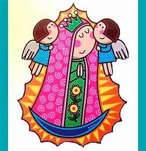 Guadalupe en Caricatura Imagenes de Virgen de Guadalupe