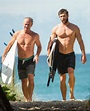 Chris Hemsworth Surfs With His Dad Picture | Stars with ...