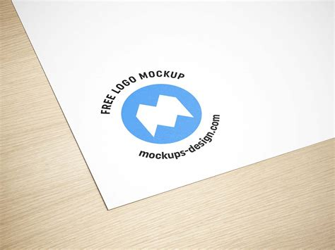 Find & download free graphic resources for logo mockup. Free Paper Logo Mockup (PSD)