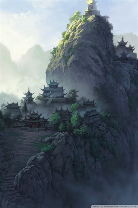 ancient japanese temples ultra hd desktop background