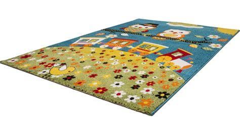 tapis pour chambre fille tapis pour chambre enfant blue hibou pas cher