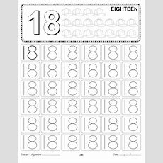 Number Tracing Worksheet  18  Homeschooling Number Tracing  Pinterest  Tracing Worksheets