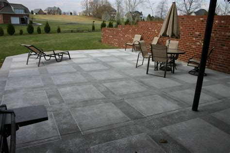 concrete ideas for patios and decks interior decorating
