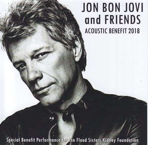 Jon Bon Jovi Friends Acoustic Benefit Cdr Blu