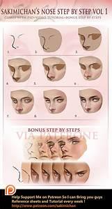 Nose tutorial by sakimichan on DeviantArt