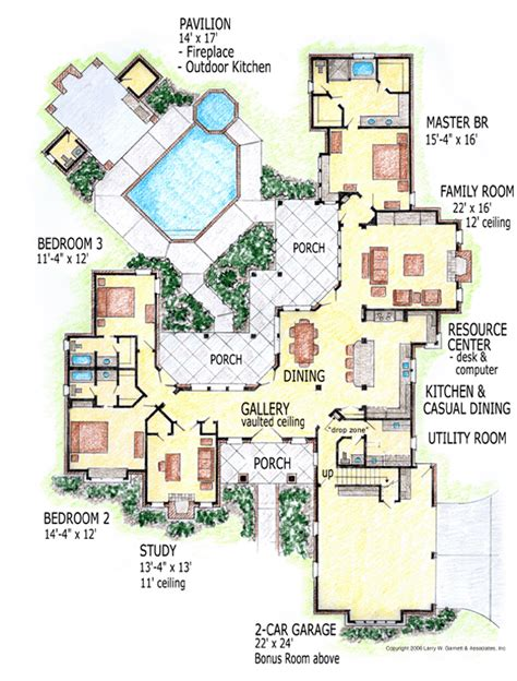 outdoor living house plans outdoor living spaces family home plans