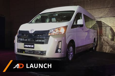 toyota hiace launch autodeal