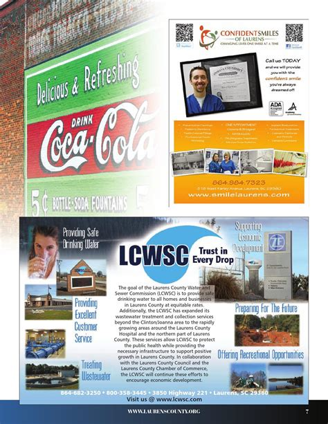 Danny verdin compared lcwsc chair ted davenport and general. Laurens County SC Community Profile by Townsquare ...