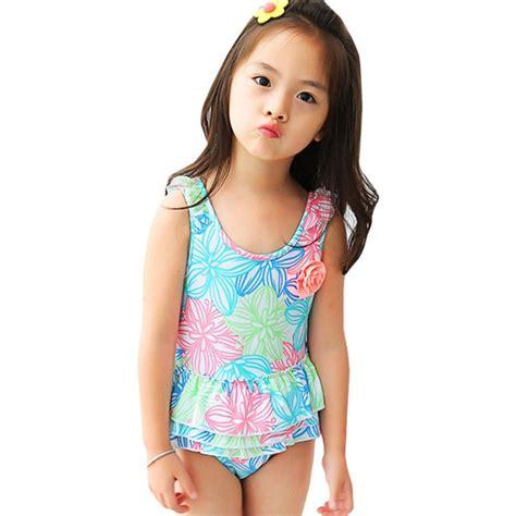 baby girls  piece swimsuit beachwear summer