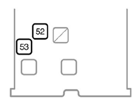 toyota yaris mk2 2007 fuse box diagram auto genius