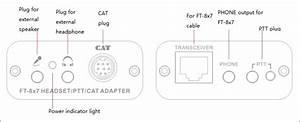 Cat Converter Adapter For Yaesu Ft