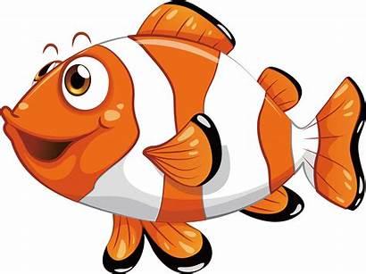 Fish Clip Nemo Clipart Clown Transparent Fisch