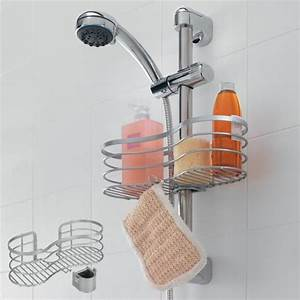 Duschhalterung Ohne Bohren : duschregal duschablage polytherm beschichtung f r die brausestange via geeignet f r einen ~ Yasmunasinghe.com Haus und Dekorationen