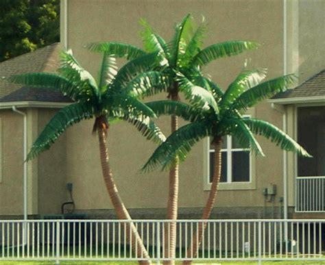 artificial palm tree custom made palm trees putdoor palms