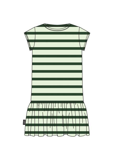 Kleita zaļi strīpaina | HEBE