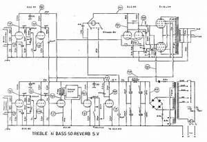 Selmer Tnb 50 Reverb Schematic