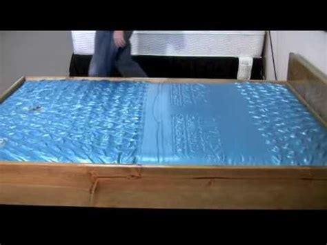 water beds and stuff waterbed mattress ls 7127 wave test
