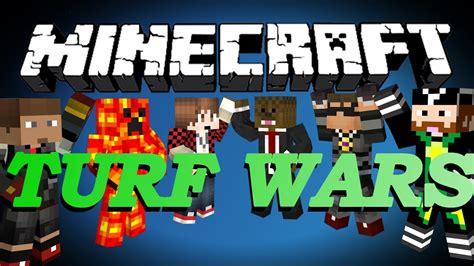 Brand New Minecraft Turf Wars Minigame W Skydoesminecraft