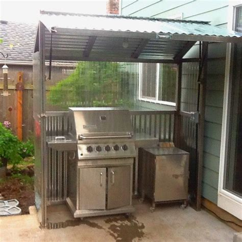 wooden bbq cover build a grill gazebo for your backyard diy projects for everyone