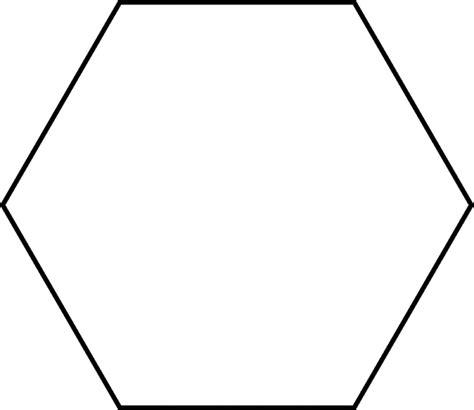 large hexagon  pattern block set clipart