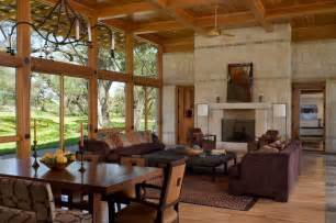 hill country river ranch rustic living room other metro by studio industrielle