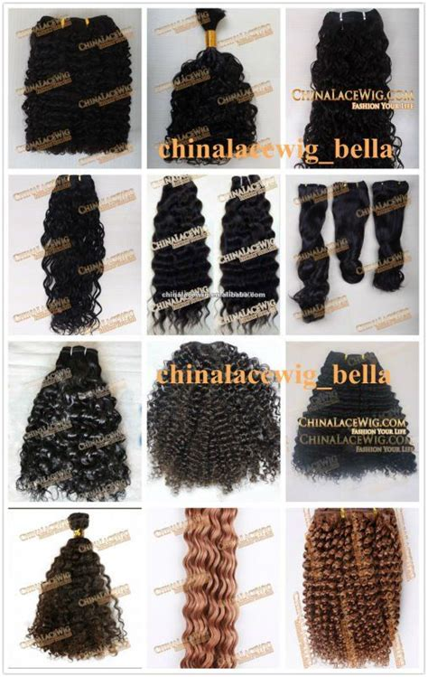kinds curly pattern hair weaves african