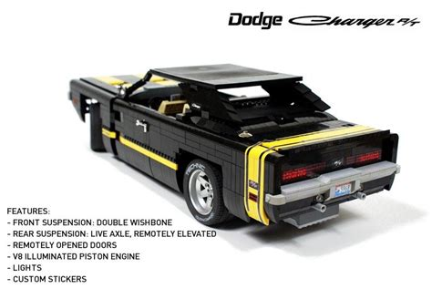 Remote Control Lego  Dodge Charger R T Gadgetsin