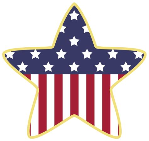 Download High Quality american flag clipart star ...
