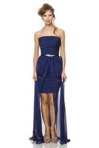 royal blue bridesmaid dresses plus size fashion strapless midnight blue chiffon pleated bridesmaid dress removable skirt