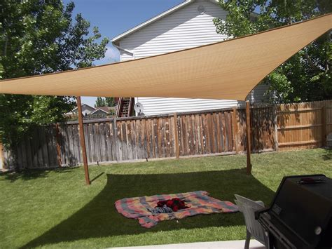 Backyard Sun Shades by Kimballing Sun Shade