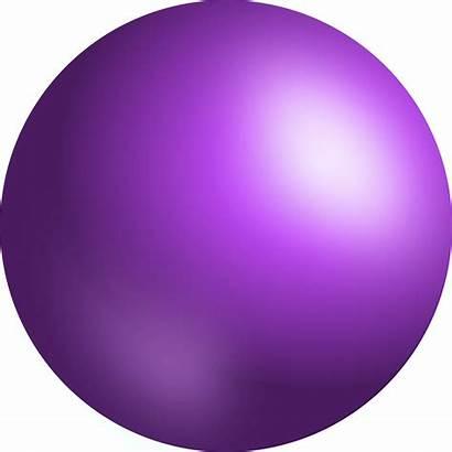 Sphere Clip 3d Circle Ball Clipart Purple