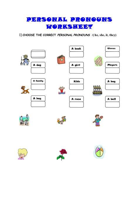 Personal Pronouns Spanish Worksheet Pdf  Spanish Subject Pronoun Worksheet Pdf Personal