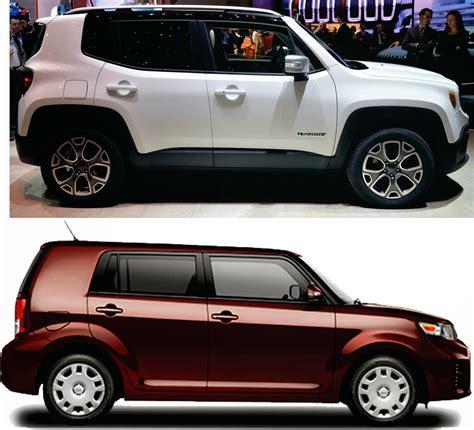 dimension jeep renegade size comparisons jeep renegade forum