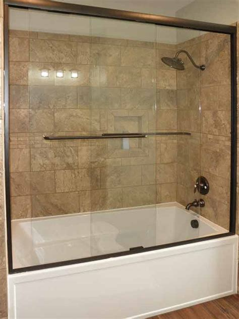 Bathtub Doors Rubbed Bronze by Glass Shower Gallery Precision Glass Shower