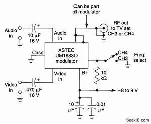 Video Modulator Hookup - Analog Circuit