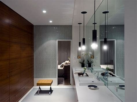 Bathroom lighting design, ultra modern light fixtures