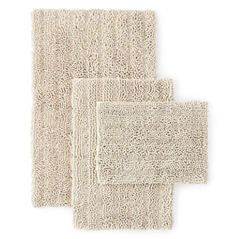 jcpenney bathroom rugs chenille lines bath rug collection