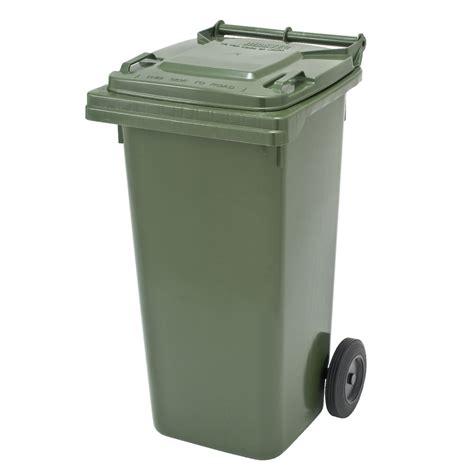 mastec wheelie garbage bin 120l officeworks