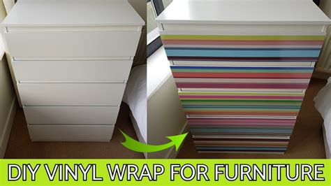 diy vinyl wrap  furniture   printed films youtube