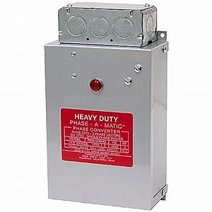 3  4 Hp To 1 2 Hp Phase Converter