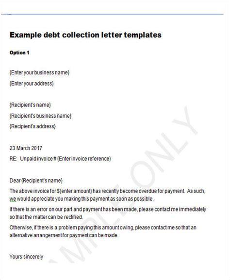 debt collection letter 37 demand letter sles sle templates