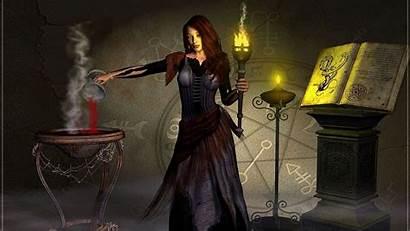 Witch Desktop Backgrounds Wallpapers Fantasy Computer Hexe