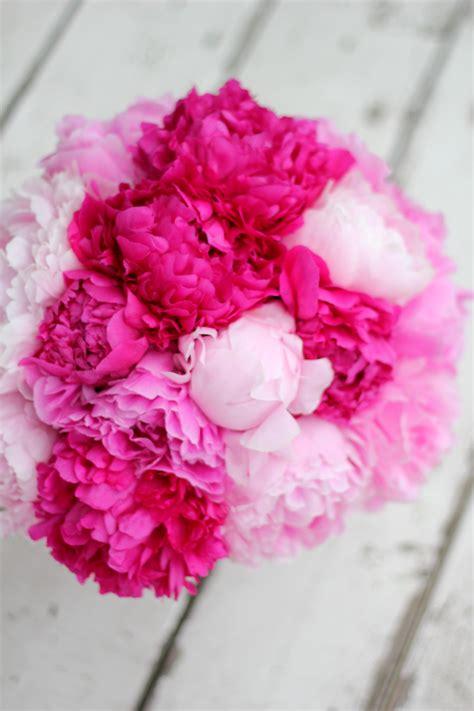 Pink Peony Bouquet Floret Cadet