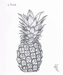 Observational Drawing: Pineapple fruit by nairarun15 on ...