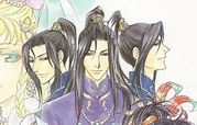 Ran triplets from Saiunkoku Monogatari