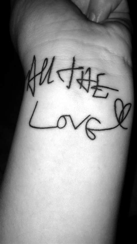 One Direction inspired tattoo | One direction tattoos