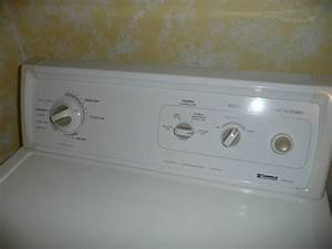 Oe 4445  12 Yr Old Kenmore Electric Dryer Where Is The