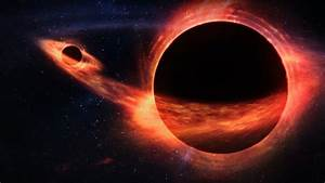 When One Black Hole Eats Another... Look Out - YouTube