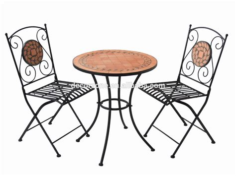 table et chaise bistrot garden furniture mosaic table and chair bistro set